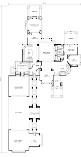 293 best home design blueprints images on pinterest house floor main floor plan with courtyard parking and terrace