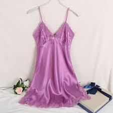 ladies silk satin night dress u2013 uptodeals