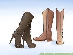 9 ways to select shoes to wear with an wikihow