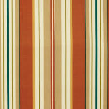 Blue And White Striped Upholstery Fabric Lancester Clay Red Beige White Blue Green Stripe Print Outdoor