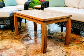 Teak Outdoor Table Tortuga Outdoor Lexington Wicker 6 Piece Deep Seating Loveseat Set
