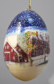 country goose egg ornament sabbathday lake shaker