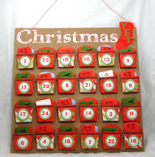 christmas advent calendar paper and fiber arts countdown to christmas advent calendar using