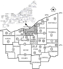 Map Of Youngstown Ohio by Area 54 District Map