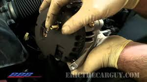 how to change remove u0026 replace an alternator youtube