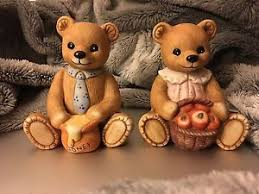home interior bears vintage homco bears boy porcelain figurines 1405 home