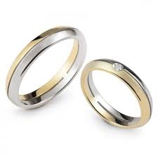 verighete din aur verighete din aur alb si aur galben model fe317