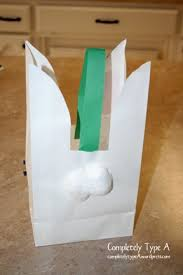 bunny paper bag completely type a