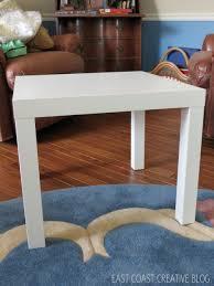 coffee table ikea hack ottoman tutorial infarrantly creative