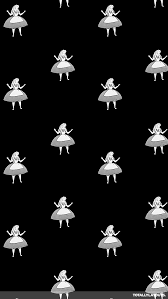 tumbling alice in wonderland png 640 1136 wallpaper