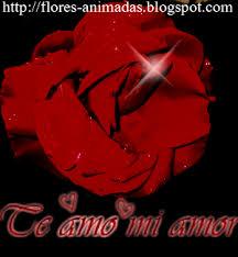 imagenes de amor con rosas animadas flores y rosas animadas te amo mi amor