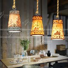 Restaurant Pendant Lighting Creative Personality Retro Loft Bar Restaurant Pendant Lights