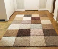 rugs vintage wool with beige brown grey black houndstooth rug