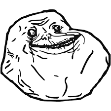 Forever Alone Meme Face - s forever alone meme style 1 decal