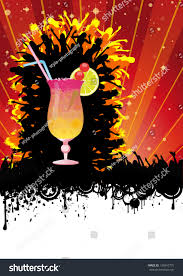 flyer design cocktail party stock vector 134047775 shutterstock