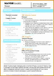 chartered accountant resume 6 accountant resume template download besttemplates