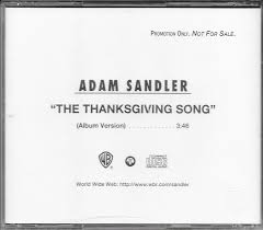 adam sandler the thanksgiving song cd at discogs