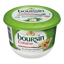 boursin cuisine ail et fines herbes fromage boursin cuisine ail et fines herbes importé de