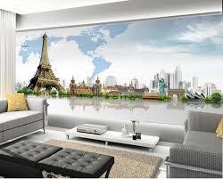 3d murals europe style world map mural 3d mural wallpapermural designs