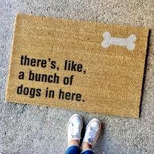 boxer dog doormat the