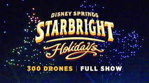 disney drone light show starbright holidays drone show at walt disney world youtube