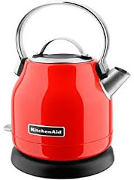 Kitchenaid Kettle And Toaster Amazon Com Kitchenaid Kek1722ob 1 7 Liter Electric Kettle With