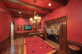 Retro Game Room Decor Fully Equipped Game Room Ideas