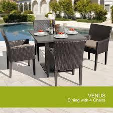 tk classics venus square kit 4dcc venus square dining table with 4