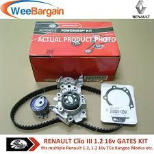 renault clio ii iii iv 1 2 16v gates kp25577xs timing belt kit