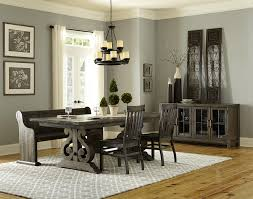 casual dining room sets magnussen home bellamy transitional pedestal dining table