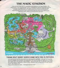 Six Flags America Map by Magic Kingdom Maps Galore Imaginerding