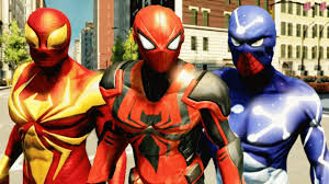 the amazing spider man 2 all dlc suits u0026 showcasing with