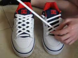 shoelace pattern for vans how to diamond lace shoes and with no bow youtube