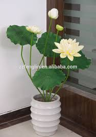 43 4 inch factory direct wholesale artificial lotus flower for