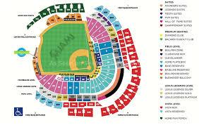 Baseball Map Marlins Park Seating Map My Blog