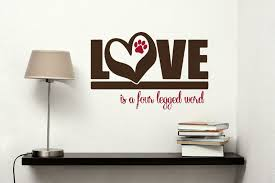 all about wall decals for the home dog and cat lovers we have
