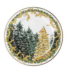 christmas plate versace a winter s christmas plate rosenthal porcelain