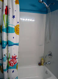 interior fetching bathroom decoration with stainless steel shower