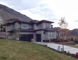 gray contemporary stucco exterior grey stucco and stone homes