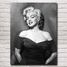 Marilyn Monroe Art Aliexpress Com Buy Lady Marilyn Monroe Art Silk Fabric