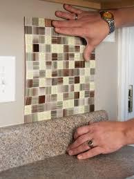 diy mosaic tile backsplash kit lowes home design ideas
