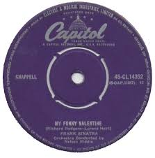 45cat frank sinatra my funny valentine i get a kick out of