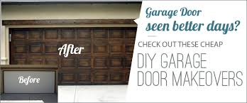 Design Ideas For Garage Door Makeover Pimp Your Garage Door With These Diy Makeover Ideas