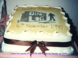 land of the giants cakes