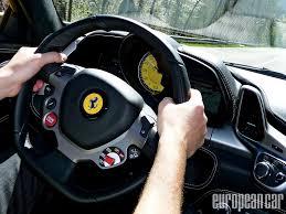 ferrari steering wheel 2010 ferrari 458 italia european car magazine