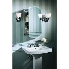 Polished Nickel Bathroom Mirrors by Marvelous Recessed Lighted Bathroom Medicine Cabinets With Arch
