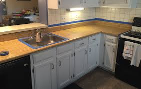 Epoxy Kitchen Countertops by Stunning Countertop Refinish Kit Contemporary Home Design Ideas