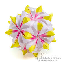 cara membuat origami kusudama probuch page 22 of 99 make an easy origami with images instructions