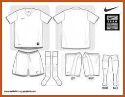 football jersey template sop example