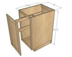 how to build kitchen cabinets this plan is for an 18